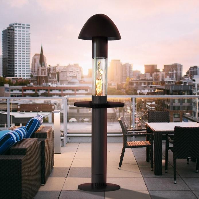 Arriba a Foc i Calor un nou sistema innovador d'estufes per a terrasses amb pèl·let