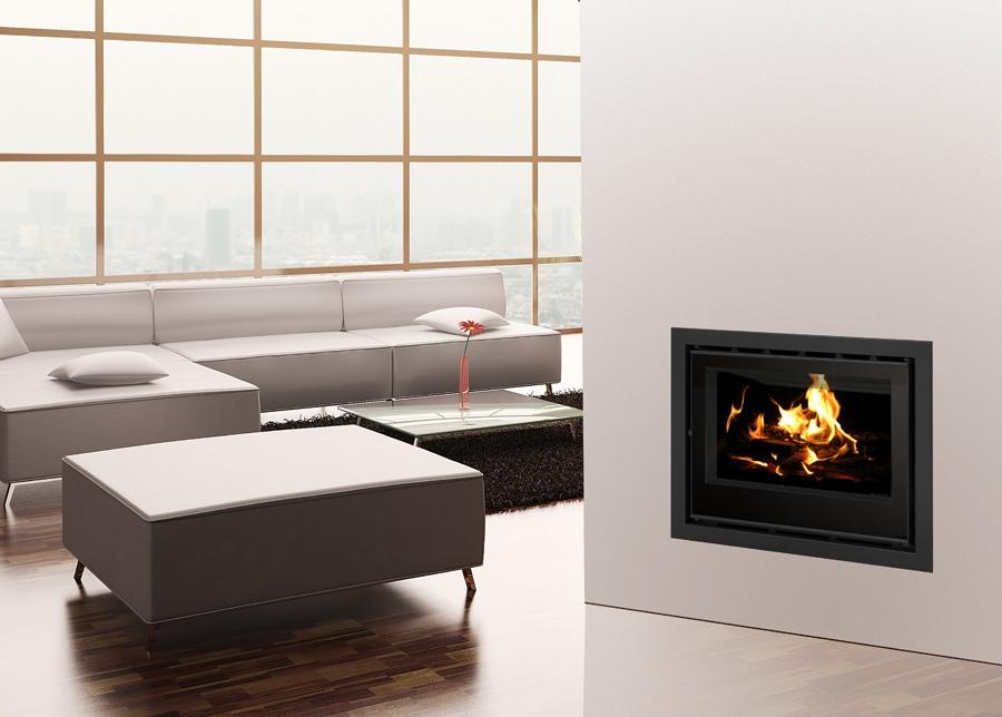 Els mòduls o insertables, una bona opció per gaudir del foc a casa
